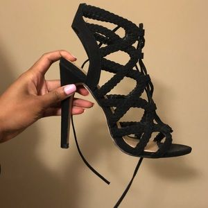 Shoes - Strappy Up Heels